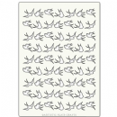 Artistic Flair, Craft Stencil 297 Range - (A4) - Swallow Background